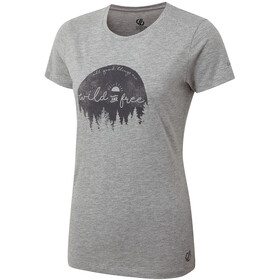 Dare 2b Ease Of Mind T-shirt Femme, ash grey marl